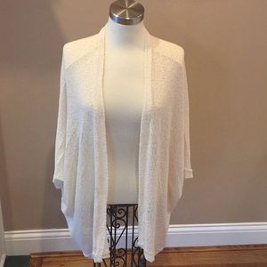 Long Open Front Sweater by Painted Threads Size M